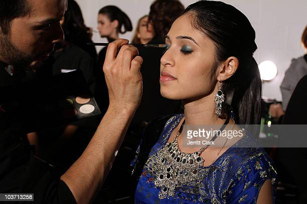 Payal Kadakia founder of The Sa Dance Company attends Malan Breton Fall 2010 at Stage 37 on February 17 2010 in New York City