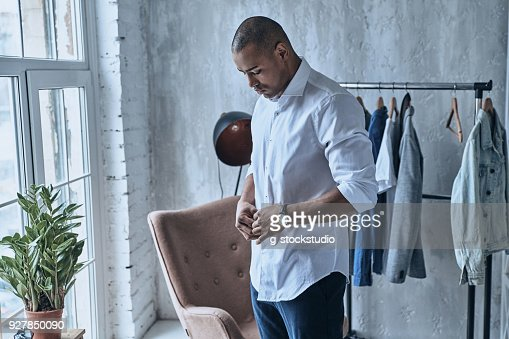 Paying attention to every detail. : Stock Photo