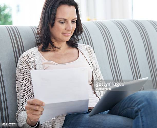 Paying bills is quick and easy online