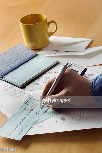 Payer les factures par chèque dans le Vermont