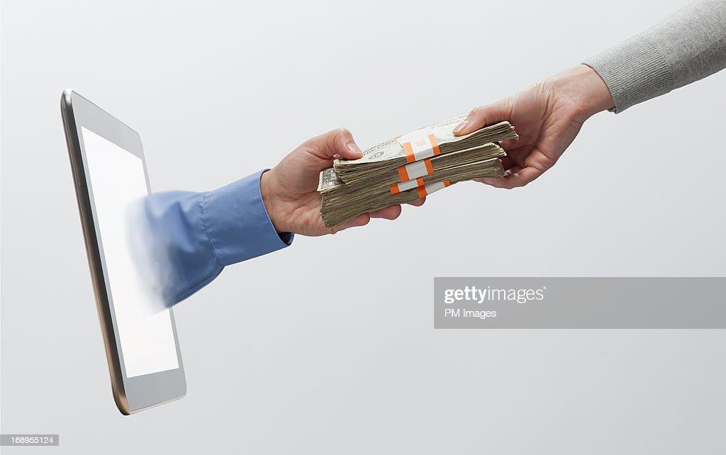 Paying digitally
