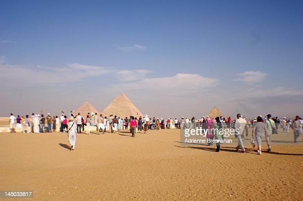 Paying homage to pyramids
