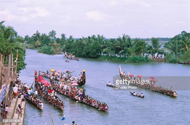 Payippad boat race in Kerala, India.