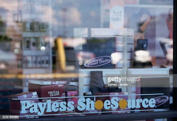 Payless Shoe Store Window