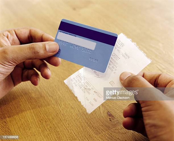 Payment card and receipt