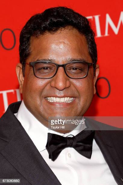 Paytm founder Vijay Shekhar Sharma attends the 2017 Time 100 Gala at Jazz at Lincoln Center on April 25 2017 in New York City