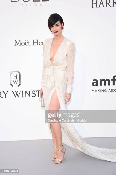 Paz Vega arrives at the amfAR Gala Cannes 2017 at Hotel du CapEdenRoc on May 25 2017 in Cap d'Antibes France