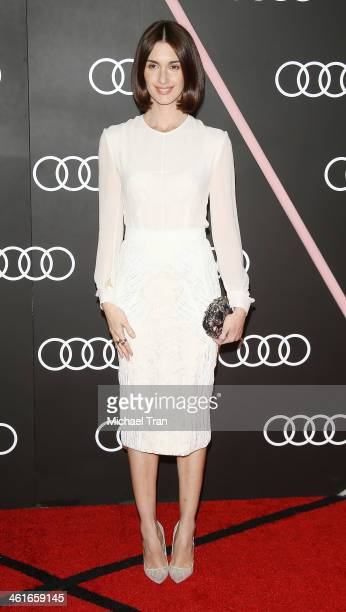Paz Vega arrives at the Audi Golden Globe 2014 kick off cocktail party held at Cecconi's Restaurant on January 9 2014 in Los Angeles California