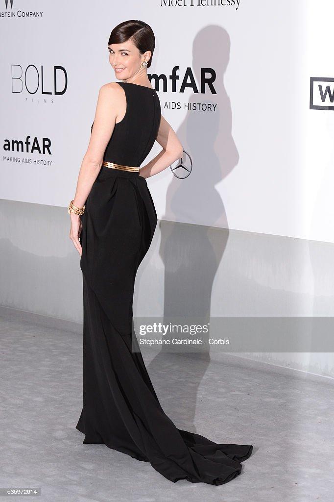 Paz Vega at the amfAR's 21st Cinema Against AIDS Gala at Hotel du Cap-Eden-Roc during the 67th Cannes Film Festival