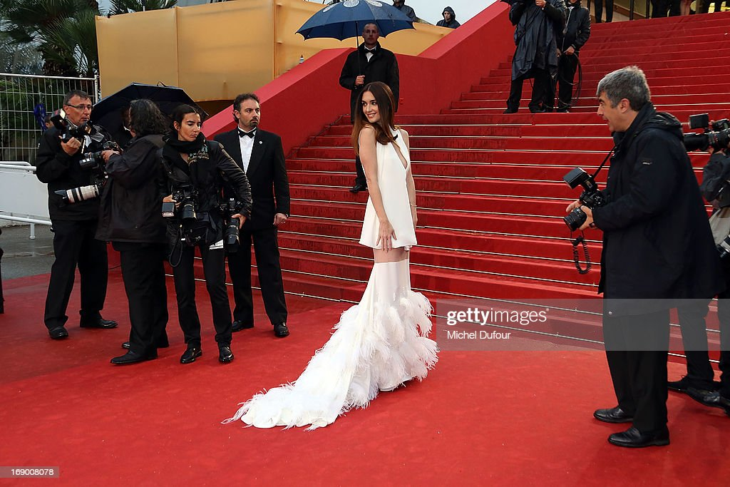 Paz Vega attends 'Jimmy P. (Psychotherapy Of A Plains Indian)' Premiere during the 66th Annual Cannes Film Festival at Grand Theatre Lumiere on May 18, 2013 in Cannes, France.
