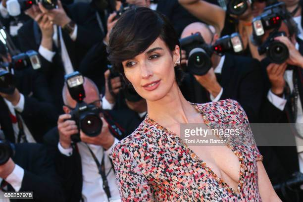 Paz Vega attends the '120 Battements Par Minutes ' screening during the 70th annual Cannes Film Festival at Palais des Festivals on May 20 2017 in...