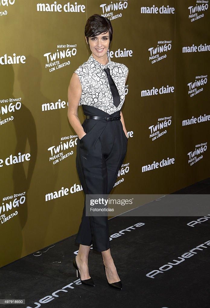 Paz Vega attends the 2015 Marie Claire Prix de la Mode at Callao Cinema on November 19 2015 in Madrid Spain