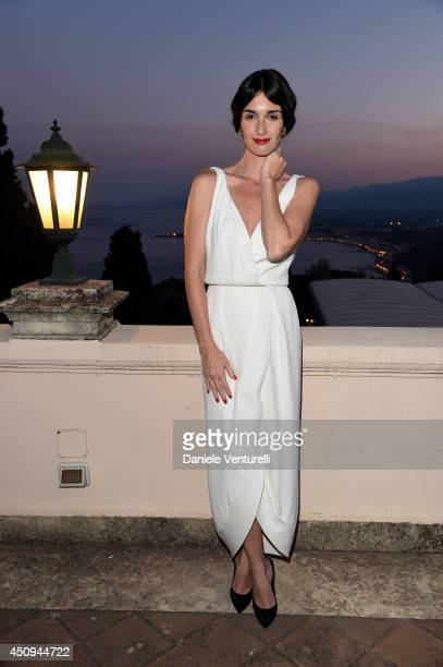 Paz Vega attends the 60th Taormina Film Fest on June 20 2014 in Taormina Italy