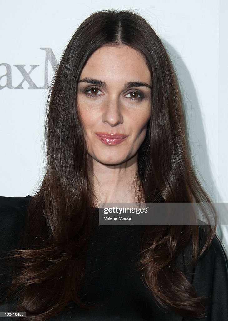 Paz Vega attends the 6th Annual Women In Film Pre-Oscar Party hosted by Perrier Jouet, MAC Cosmetics and MaxMara at Fig & Olive Melrose Place on February 22, 2013 in West Hollywood, California.