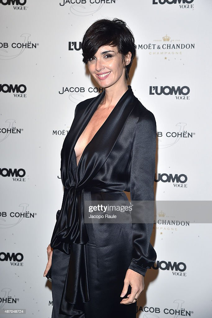 Paz Vega attends the 'Being The Protagonist' Party hosted By L'Uomo Vogue during the 72nd Venice Film Festival at San Clemente Palace Hotel on...