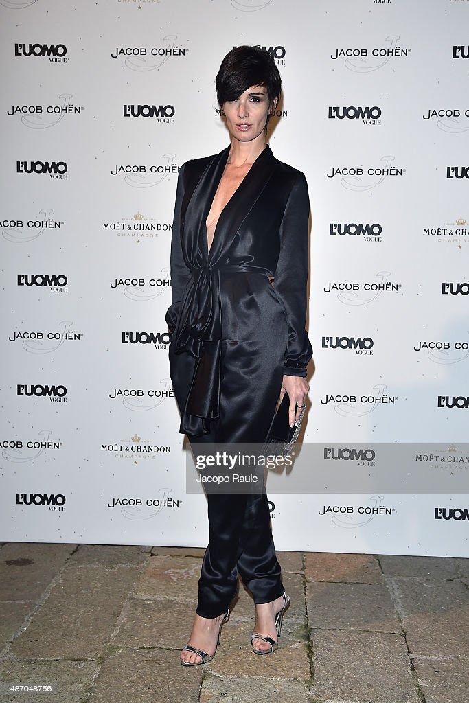 <a gi-track='captionPersonalityLinkClicked' href=/galleries/search?phrase=Paz+Vega&family=editorial&specificpeople=208840 ng-click='$event.stopPropagation()'>Paz Vega</a> attends the 'Being The Protagonist' Party hosted By L'Uomo Vogue during the 72nd Venice Film Festival at San Clemente Palace Hotel on September 5, 2015 in Venice, Italy.