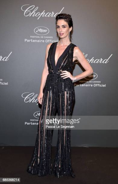 "Paz Vega attends the Chopard ""SPACE Party"" hosted by Chopard's copresident Caroline Scheufele and Rihanna at Port Canto on May 19 in Cannes France"