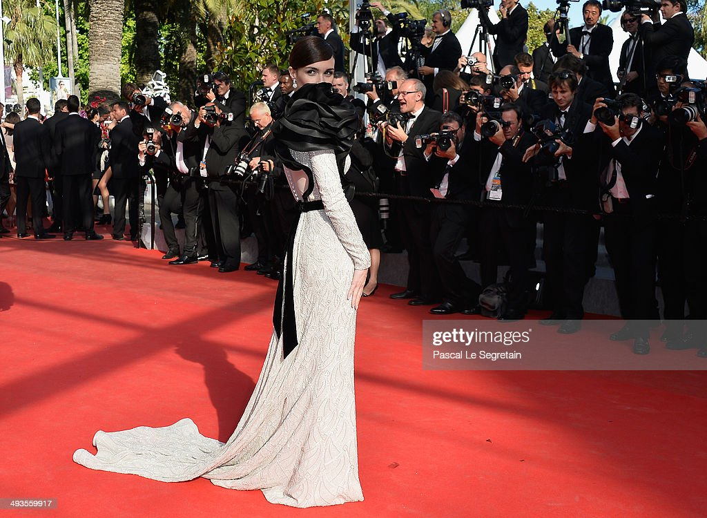 Paz Vega attends the Closing Ceremony and 'A Fistful of Dollars' screening during the 67th Annual Cannes Film Festival on May 24, 2014 in Cannes, France.