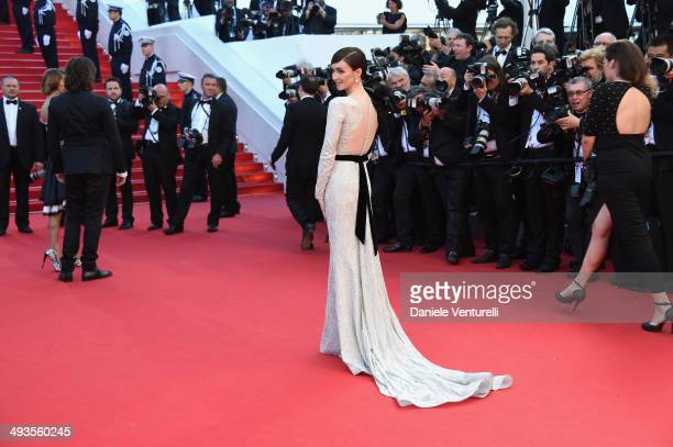 Paz Vega attends the Closing Ceremony and 'A Fistful of Dollars' Screening during the 67th Annual Cannes Film Festival on May 24 2014 in Cannes France