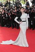 Paz Vega attends the closing ceremony and 'Fistful of Dollars' screening at the 67th Annual Cannes Film Festival on May 24 2014 in Cannes France