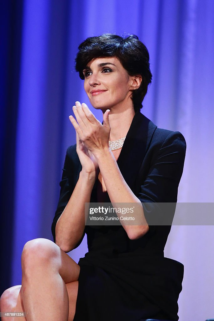 <a gi-track='captionPersonalityLinkClicked' href=/galleries/search?phrase=Paz+Vega&family=editorial&specificpeople=208840 ng-click='$event.stopPropagation()'>Paz Vega</a> attends the closing ceremony during the 72nd Venice Film Festival on September 12, 2015 in Venice, Italy.