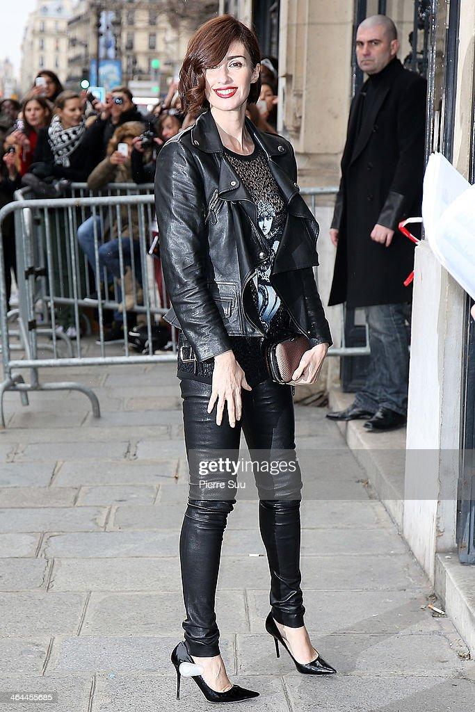Jean Paul Gaultier : Outside Arrivals - Paris Fashion Week - Haute Couture S/S 2014