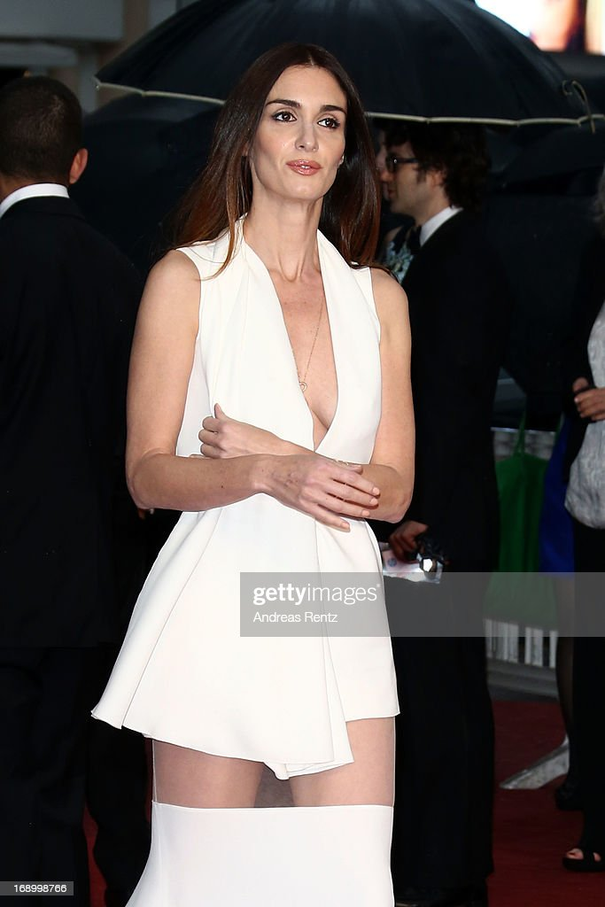 Paz Vega attends the 'Jimmy P. (Psychotherapy Of A Plains Indian)' Premiere during the 66th Annual Cannes Film Festival at the Palais des Festivals on May 18, 2013 in Cannes, France.