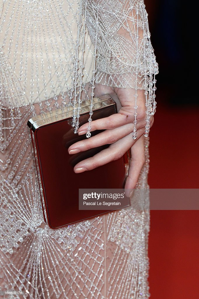 Paz Vega (fashion detail) attends the Opening Ceremony and 'The Great Gatsby' Premiere during the 66th Annual Cannes Film Festival at the Theatre Lumiere on May 15, 2013 in Cannes, France.