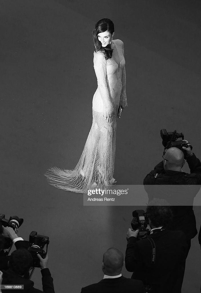 Paz Vega attends the Opening Ceremony and 'The Great Gatsby' Premiere during the 66th Annual Cannes Film Festival at the Theatre Lumiere on May 15, 2013 in Cannes, France.