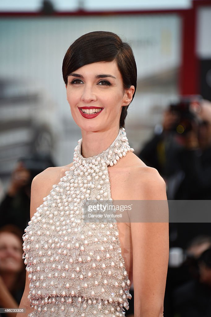 Paz Vega attends the opening ceremony during the 72nd Venice Film Festival on September 2 2015 in Venice Italy