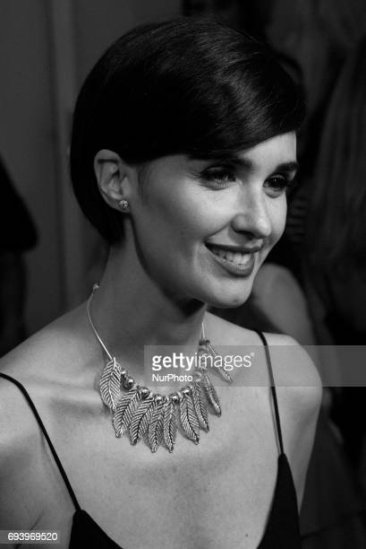 Paz Vega attends the 'Pandora' party Photocall in Madrid on Jun 8 2017