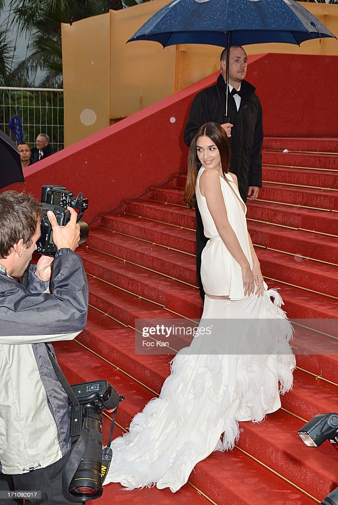 Paz Vega attends the Premiere of 'Jimmy P. (Psychotherapy Of A Plains Indian)' at Palais des Festivals during The 66th Annual Cannes Film Festival on May 18, 2013 in Cannes, France.
