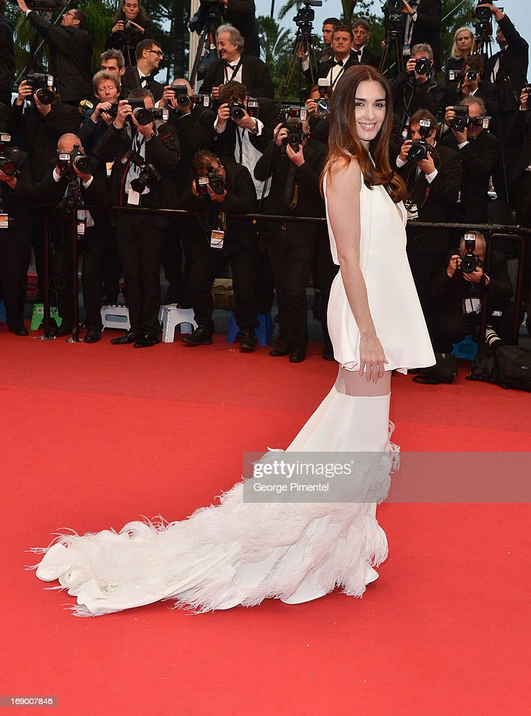Paz Vega attends the Premiere of 'Jimmy P. (Psychotherapy Of A Plains Indian)' at The 66th Annual Cannes Film Festivalon May 18, 2013 in Cannes, France.