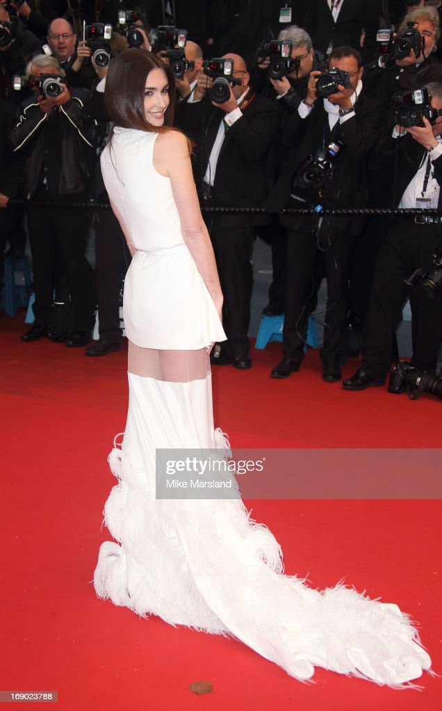 Paz Vega attends the Premiere of 'Jimmy P. (Psychotherapy Of A Plains Indian)' at The 66th Annual Cannes Film Festival on May 18, 2013 in Cannes, France.