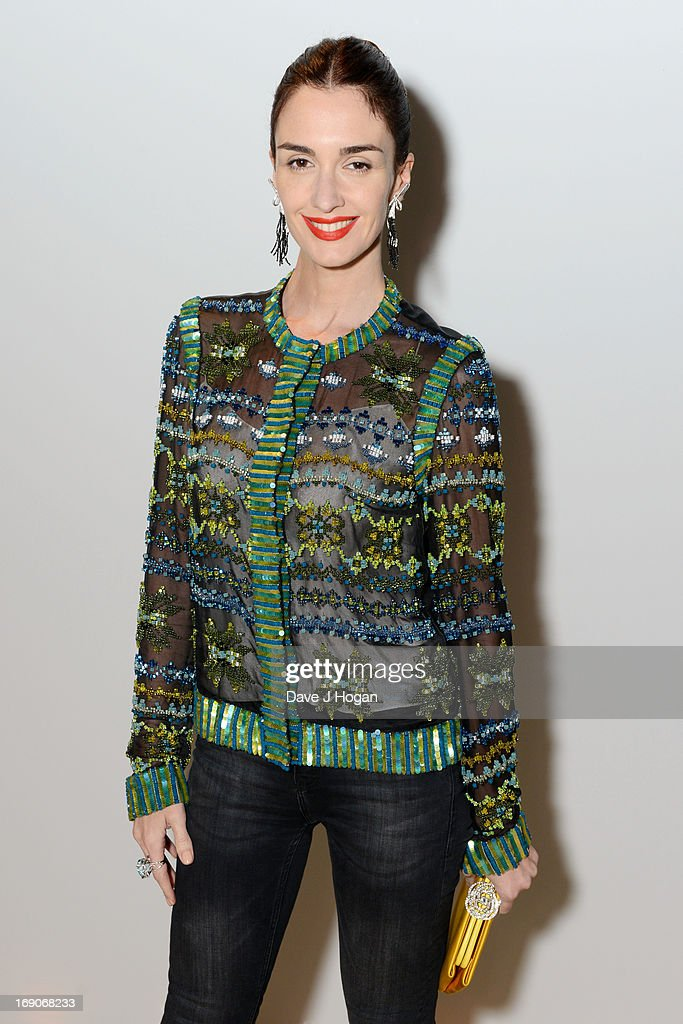 Paz Vega attends the Vanity Fair and Chanel dinner during The 66th Annual Cannes Film Festival at Tetou Restaurant on May 19, 2013 in Cannes, France.