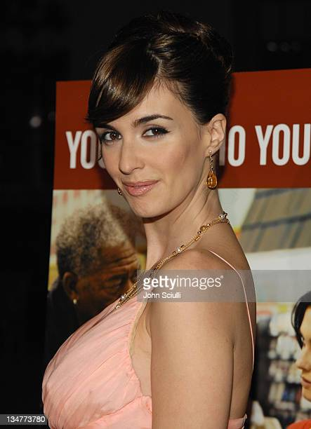Paz Vega during '10 Items or Less' Los Angeles Premiere Arrivals at Paramount Theater in Los Angeles California United States