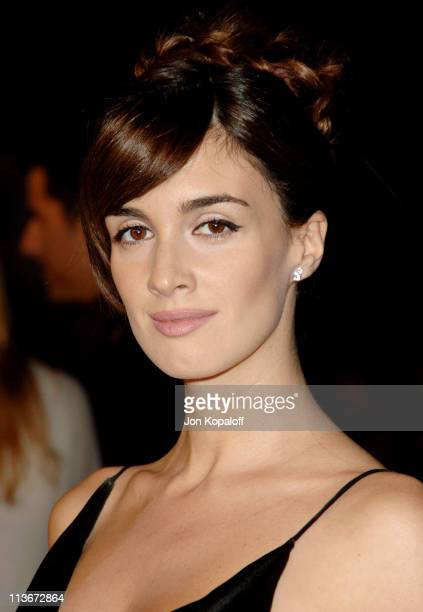 Paz Vega during 'Babel' Los Angeles Premiere Arrivals at Mann Village in Westwood California United States