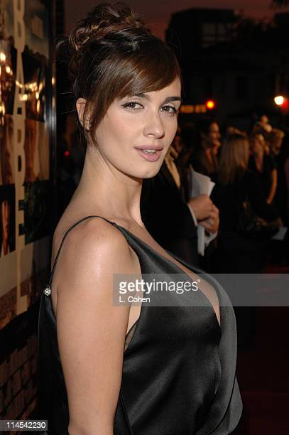Paz Vega during 'Babel' Los Angeles Premiere Red Carpet at Mann Village in Westwood California United States