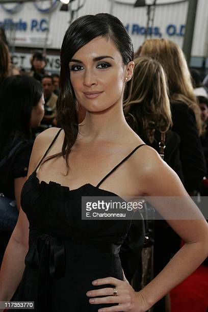 Paz Vega during Columbia Pictures' 'The Legend of Zorro' Los Angeles Premiere at Orpheum Theater in Los Angeles California United States