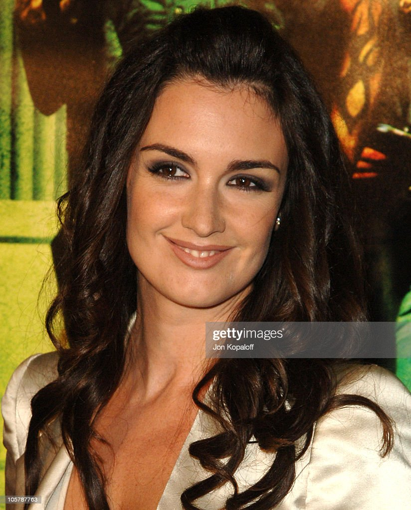 Paz Vega during New Line Cinema's 'Domino' Los Angeles Premiere Arrivals at Grauman's Chinese Theater in Hollywood California United States