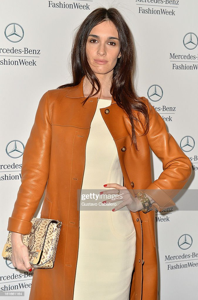 Paz Vega is seen around Lincoln Center - Day 7 - Fall 2013 Mercedes-Benz Fashion Week at Lincoln Center for the Performing Arts on February 13, 2013 in New York City.