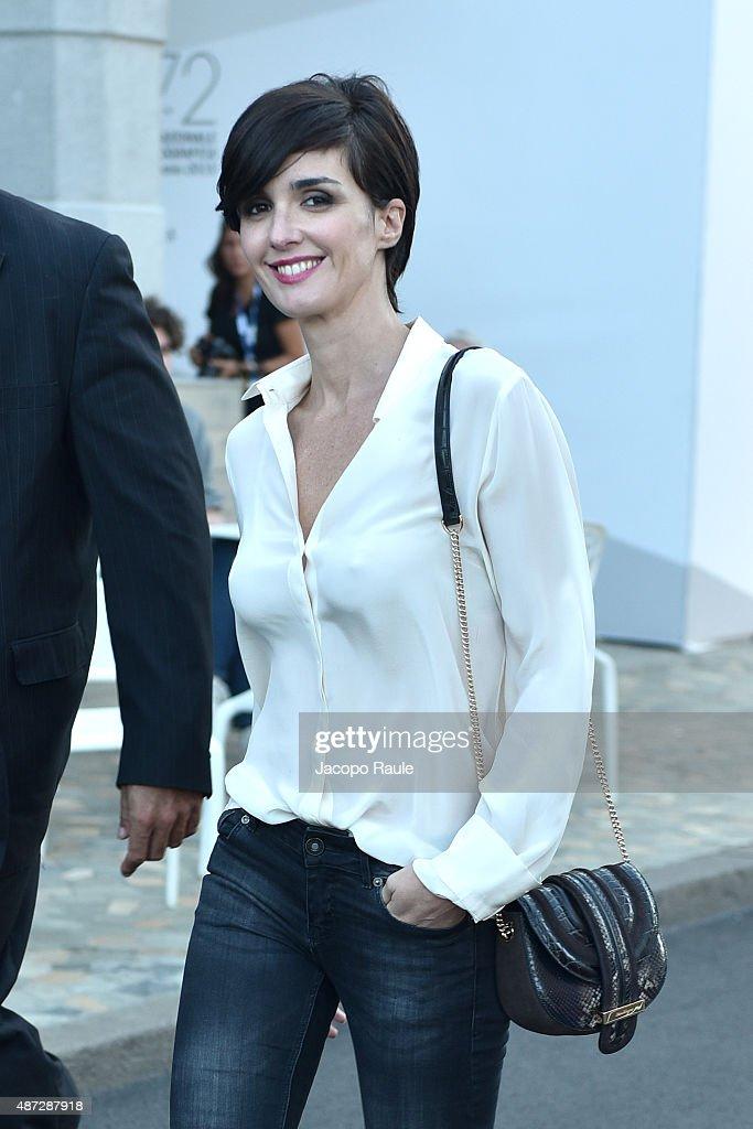 Paz Vega is seen during the 72nd Venice Film Festival on September 8 2015 in Venice Italy