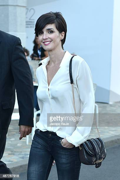 Paz Vega is seen during the 72nd Venice Film Festival on September 8 2015 in Venice Italy