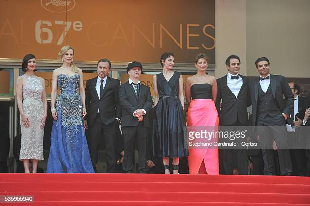 Paz Vega Nicole Kidman Tim Roth Olivier Dahan Jeanne Balibar Uday Chopra and Arash Amel attend the Opening Ceremony and the 'Grace of Monaco'...