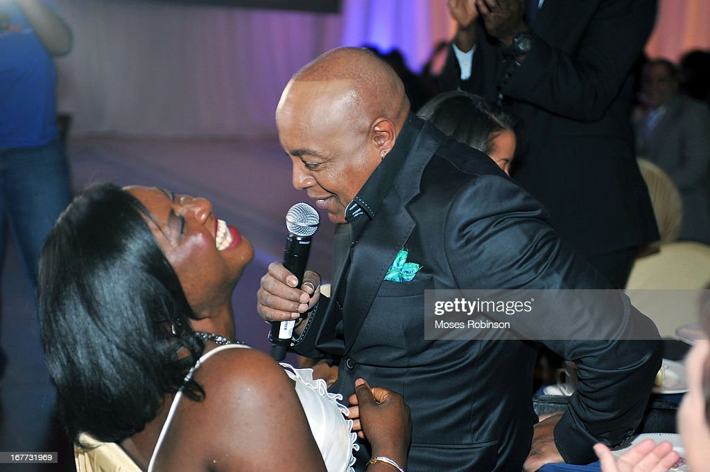 Peabo Bryson performs at the Care For Congo Gala 2013 at the St. Regis Hotel on April 13, 2013 in Atlanta, Georgia.