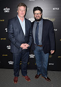 Peabody Director Dr Jeffrey Jones and Pivot general manager Kent Rees attend a cast and crew discussion with Marvel's 'Jessica Jones' at the New York...