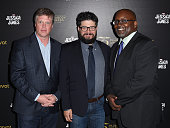 Peabody Director Dr Jeffrey Jones Pivot general manager Kent Rees and journalist Eric Deggans attend a cast and crew discussion with Marvel's...