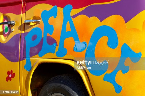 Peace graffiti : Stock Photo