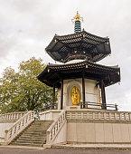 Peace Pagoda in Battersea Park, London