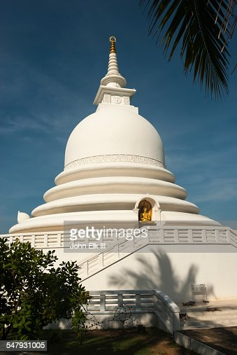 Peace Pagoda in Galle